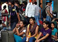 कर्नाटक: पूर्वोत्तर के लोगों का पलायन जारी, पांच गिरफ्तार