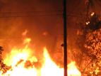 ढाका में दंगाइयों ने बौद्ध मंदिरों को जलाया