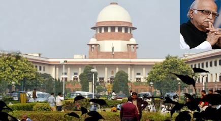 अयोध्या केस: आडवाणी के खिलाफ अपील में देरी पर SC ने मांगा जवाब