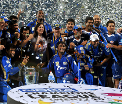 CLT20: Mumbai Indians win their first piece of silverware