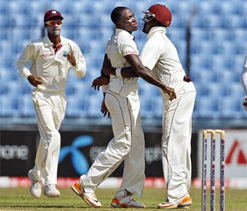 Edwards, Bishoo strike in Bangladesh Test
