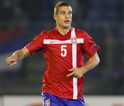 Serbia`s Vidic quits international football