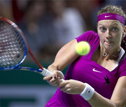 Kvitova beats Stosur in Championships semi-final