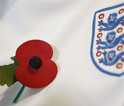 England can wear poppies on armbands, says FIFA 