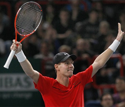 Berdych ends Murray`s long winning streak