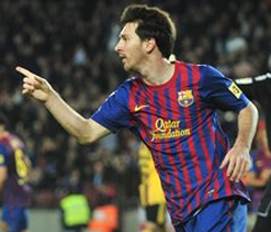 Messi scores again as Barca thump Zaragoza 4-0