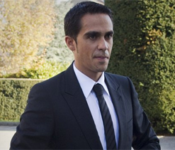 CAS begins hearing over Contador doping case