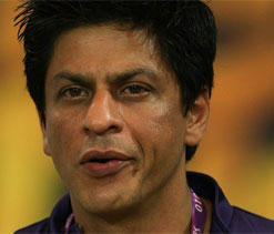 Shah Rukh confident of good showing by KKR in next season
