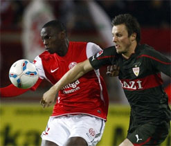 Two-goal Ujah helps Mainz floor Stuttgart