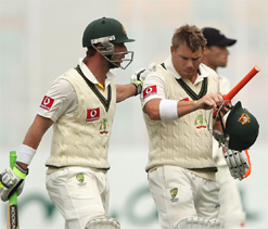 Openers propel Australia towards victory
