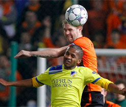 APOEL beaten at home but still top group