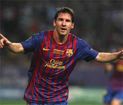 Messi leads Barca to Super Cup win over Porto