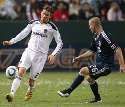Beckham planning Los Angeles Galaxy contract extension