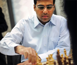 Anand plays draw with Nakamura, slips to joint 3rd