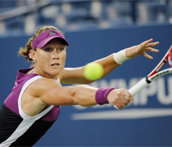 Stosur edges Petrova in 38-game marathon at Open