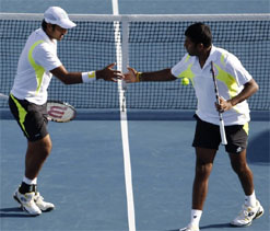 US Open: Bopanna-Qureshi in QFs, Sania out of women`s doubles