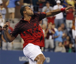 Top American man Fish loses to Tsonga at US Open