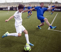 Zidane junior trains with Madrid first team