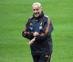 Spanish coach to stay on till 2014 Football World Cup