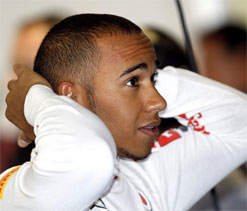 Hamilton flies in Monza first practice