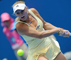 Wozniacki gets tough draw at Aus Open
