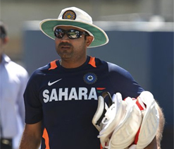 Under-pressure Sehwag nonchalant at nets