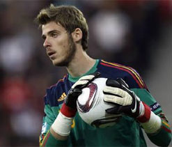 Manchester United in hunt for David de Gea's replacement