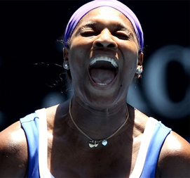 Australian Open: Serena Williams cruises into third round