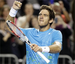 Del Potro eases into 4th round at Australian Open