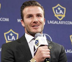 London Olympics a `very special` lure for Beckham