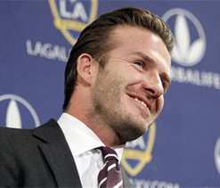 Beckham-Mania reignited as Galaxy prepare to face TFC