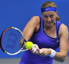 Kvitova into last 16 after Kirilenko retires