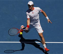 Murray in quarters after Kukushkin retires hurt