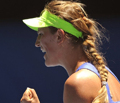 No. 3 Azarenka into semifinals at Australian Open