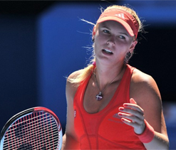 Time on my side, says beaten Wozniacki