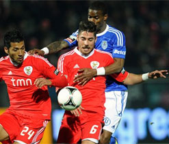 Benfica wins 2-1 at Feirense in Portugal