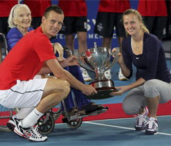 Czech Republic beat France to win Hopman Cup
