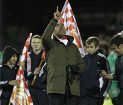 Di Canio`s greatest day as Swindon stun Wigan