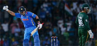 ICC T20 World Cup 2012: India thrash Pakistan to keep title hopes alive