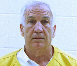 Jerry Sandusky gets at least 30 years, denies wrongdoing