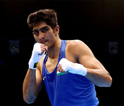 Vijender to debut in 81kg category in World C`ship next year