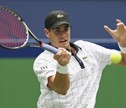 Isner advances to 3rd round at Shanghai Masters
