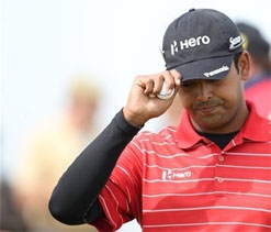 Lahiri aims for hat-trick at Indian Open