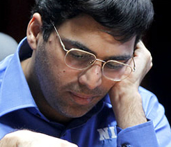 Another draw for Anand at Final Masters