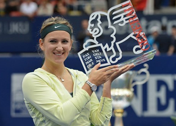 Azarenka beats Goerges to win Generali Ladies