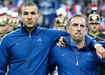 Ribery and Benzema can take France to the top: Deschamps