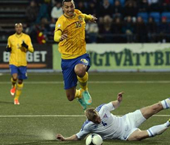 Sweden comeback one of my greatest nights: Ibrahimovic