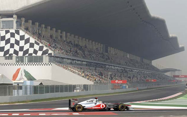 2012 Indian Grand Prix: Schedule
