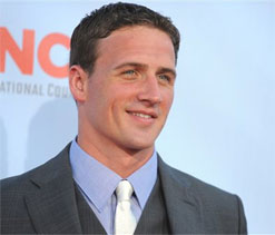 Ryan Lochte campaigns for clean water and sanitation in India