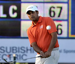 Arjun Atwal takes one shot-lead at McGladrey Classic